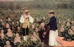Garden of Love - Gardening in a Baby Cabbage Patch