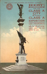 Native Sons' Monument, San Francisco, California