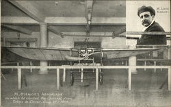 M. Bleriot Aeroplane at Selfridges