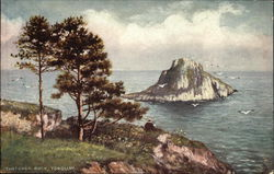 Thatcher Rock Postcard