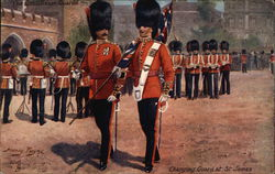 Coldstream Guards Postcard
