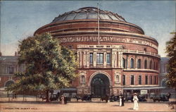 Painting of The Albert Hall in London
