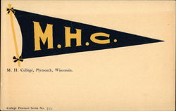M. H. College Pennant