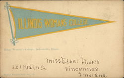 Illinois Woman's College Pennant