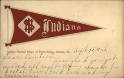 Indiana Normal School of Pennsylvania Pennant