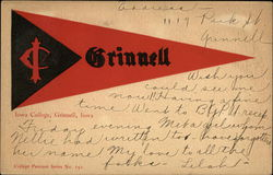 Grinnell College Pennant