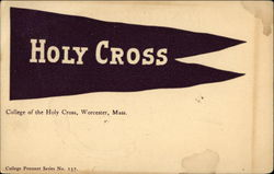 College of the Holy Cross Flag
