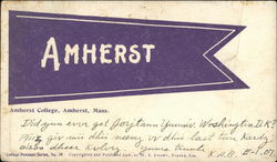 Amherst College Pennant