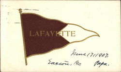 Lafayette College Pennant