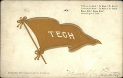 Georgia Tech Fight Song and Pennant