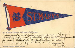 St. Mary's College Pennant