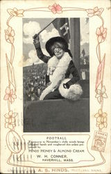 Harvard Woman at Football Game; Hinds' Honey & Almond Cream