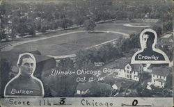 Illinois--Chicago Game, October 15, 1910