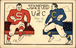 Stanford vs. University of California Berkeley Football Game
