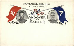 Rare 1905 Andover Vs. Exeter Football