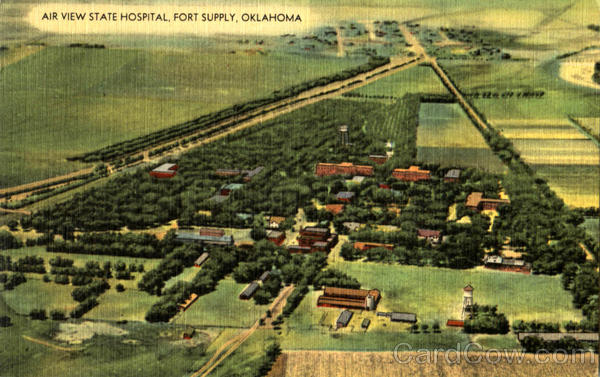 Air View State Hospital Fort Supply Oklahoma