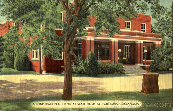 Administration Building At State Hospital Fort Supply Oklahoma