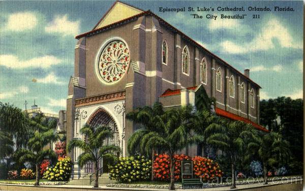 Episcopal St. Luke's Cathedral Orlando Florida