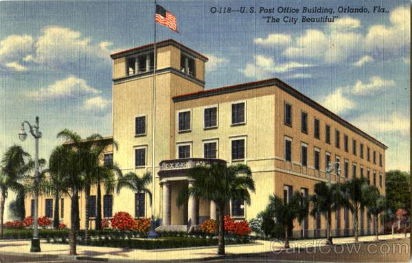 U. S. Post Office Building Orlando Florida