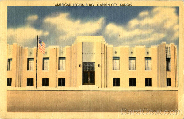American Legion Bldg Garden City Kansas