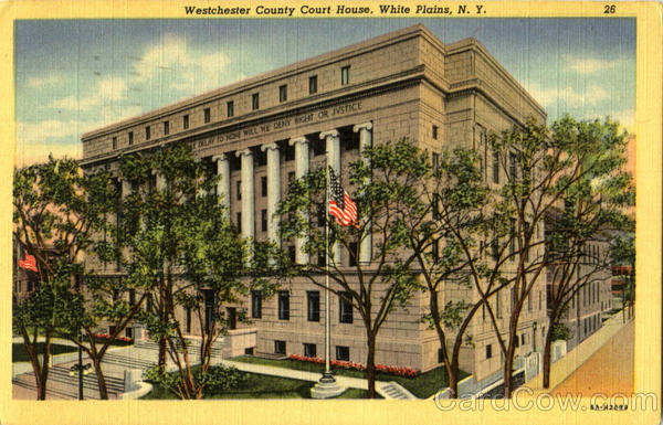 Westchester County Court House White Plains New York