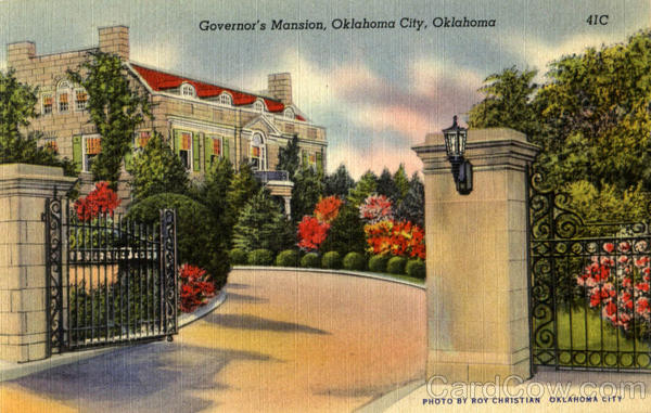 Governor's Mansion Oklahoma City
