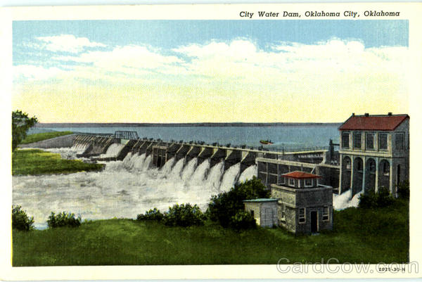 City Water Dam Oklahoma City