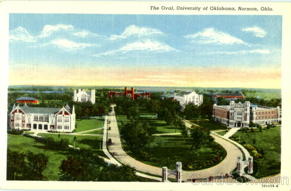 The Oval , University of Oklahoma Norman