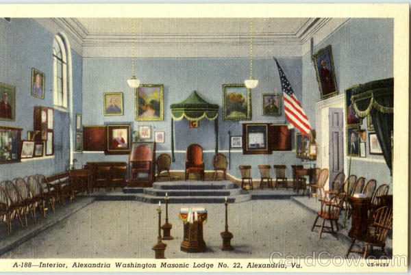 Interior alexandria washington masonic lodge no 22 for 63 alexandra terrace harbourlink warehouse