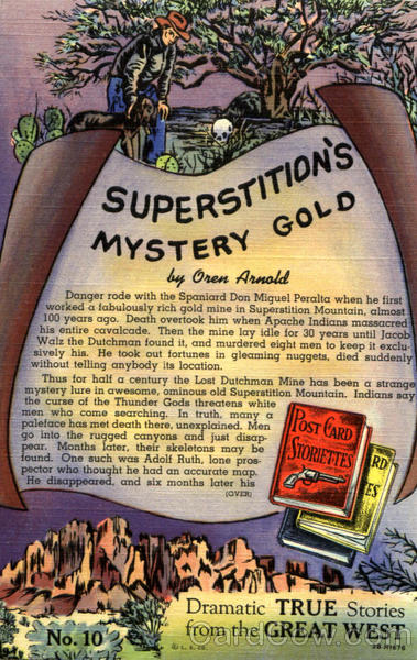 Superstition's Mystery Gold Poems