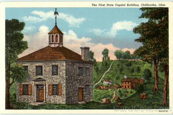 The First State Capitol Building Chillicothe Ohio