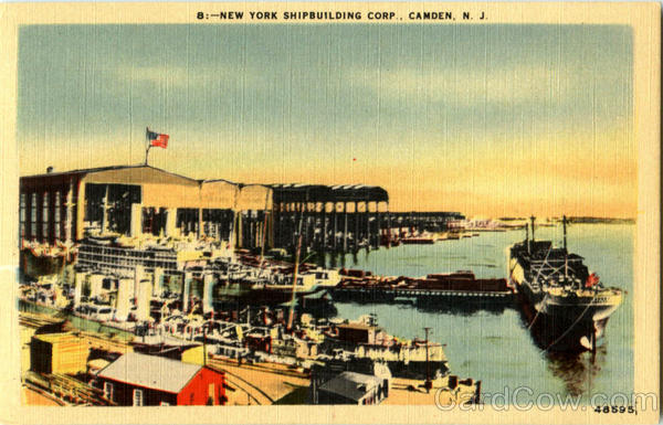 New York Shipbuilding Corp Camden New Jersey