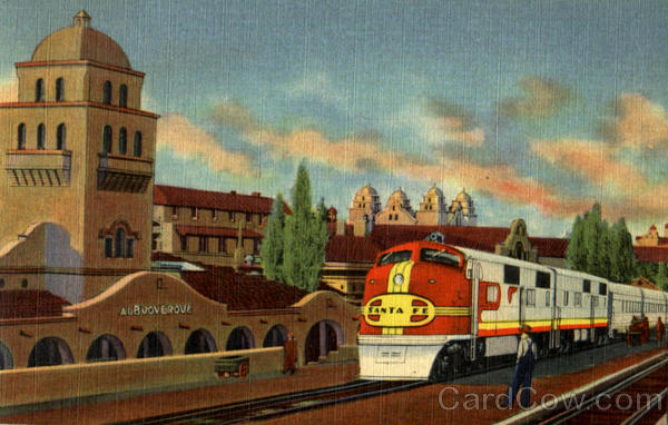 Santa Fe Super Chief Albuquerque New Mexico