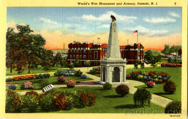 World's War Monument And Armory Passaic New Jersey