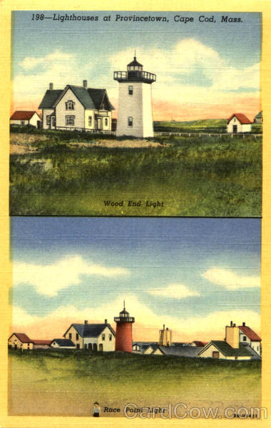 Lighthouse At Provincetown Cape Cod Massachusetts