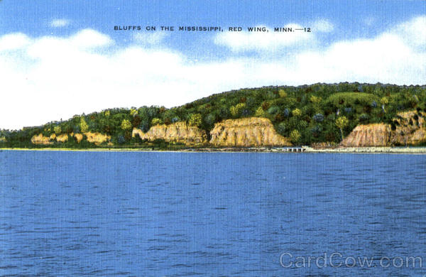 Bluffs On The Mississippi Red Wing Minnesota