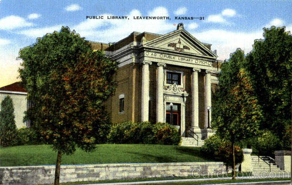 Public Library Leavenworth Kansas