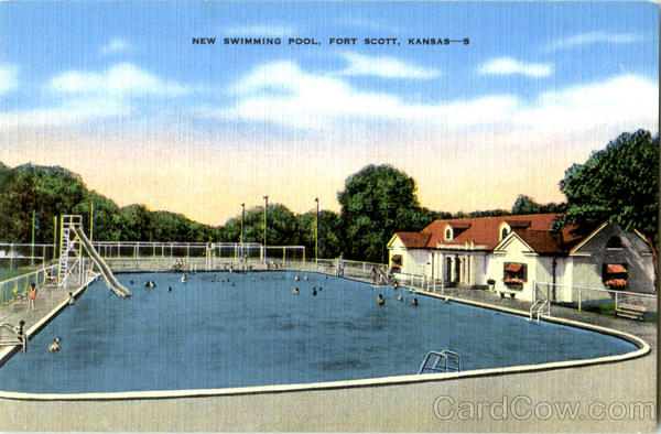 New Swimming Pool Fort Scott Kansas