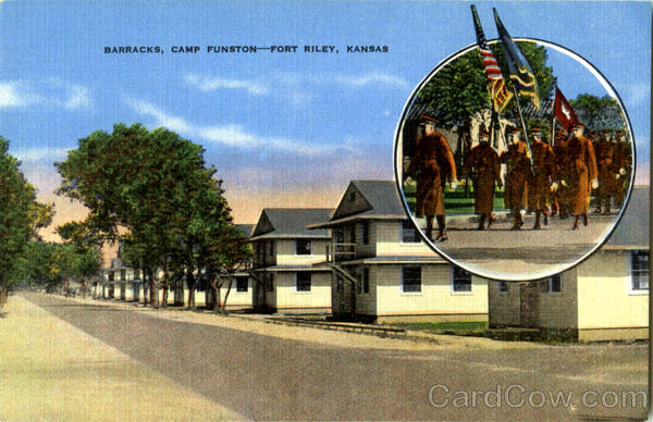 Barracks Fort Riley Kansas