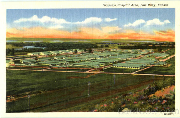 Whitside Hospital Area Fort Riley Kansas