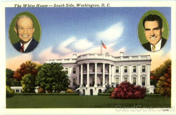 The White House South Side Washington District of Columbia