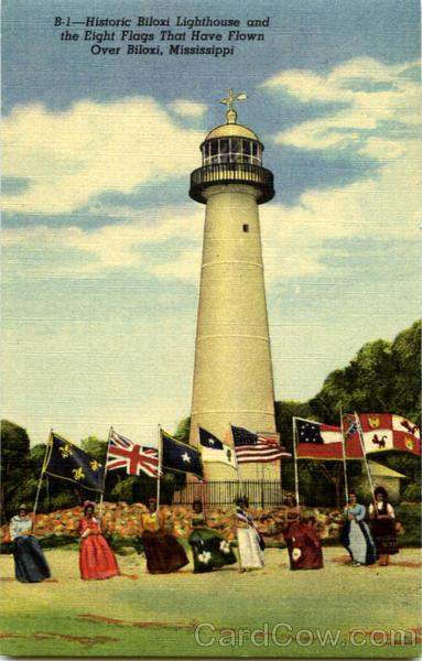 Historic Biloxi Lighthouse Mississippi