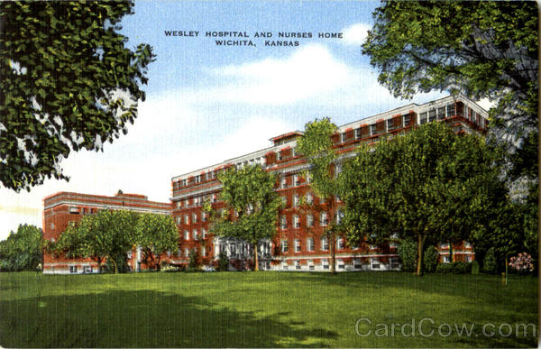 Wesley Hospital And Nurses Home Wichita Kansas