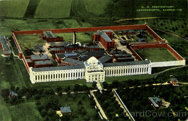 U. S. Penitentiary Leavenworth Kansas Prisons