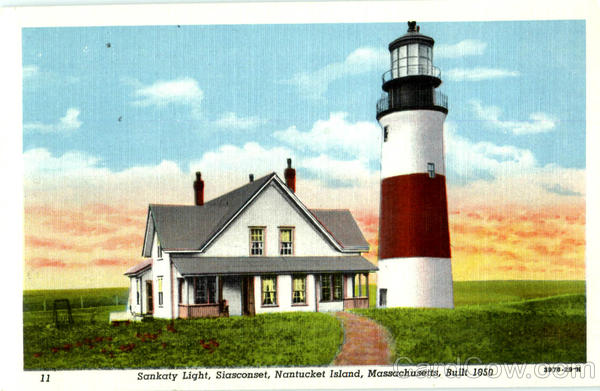 Sankaty Light, Siasconset Nantucket Massachusetts