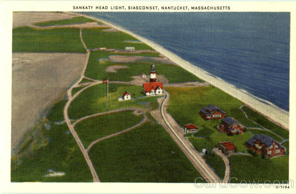 Sankaty Head Light, Siasconset Nantucket Massachusetts
