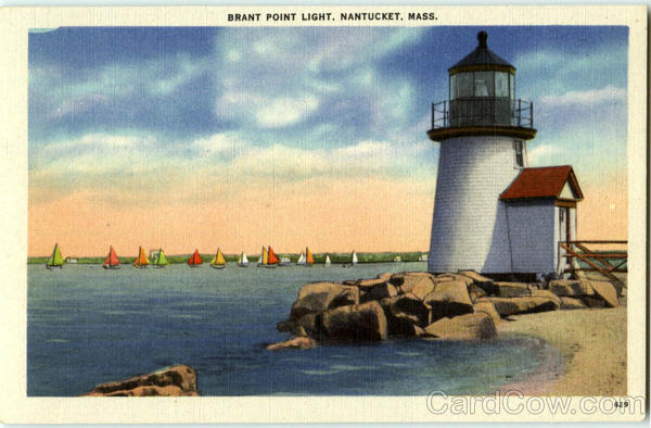 Brant Point Light Nantucket Massachusetts