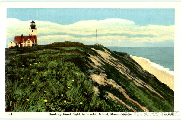 Sankaty Head Light Nantucket Massachusetts