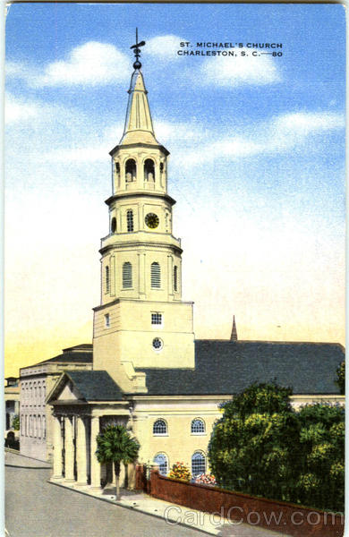 St. Michael's Church Charleston South Carolina