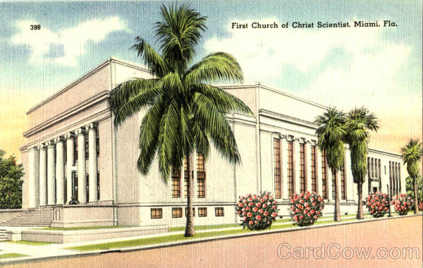 First Church Of Christ Scientist Miami Florida